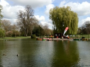 Lower Castle Park Boating Lake