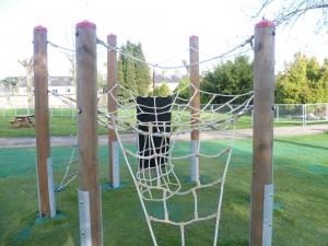 playpark climbing net