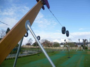 playpark zip wire
