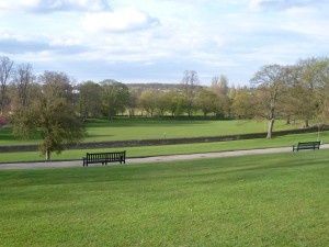 View of Lower Castle Park, Colchester